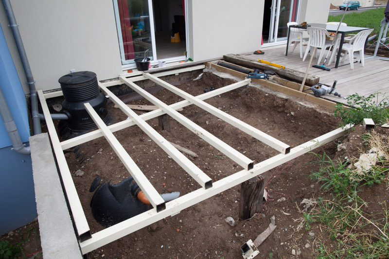 terrasse bois tuto diverses id es de. Black Bedroom Furniture Sets. Home Design Ideas